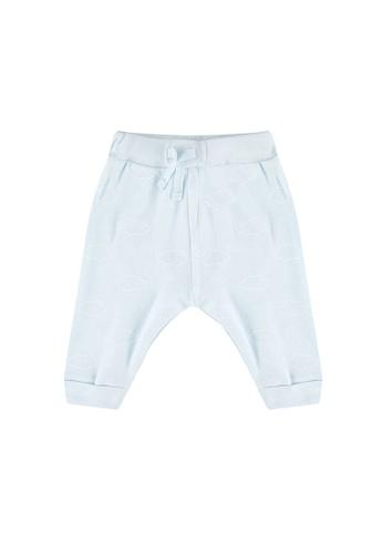 FOX Kids & Baby blue New Born All Over Cloud Print Leggings 0EE98KA6B61D41GS_1