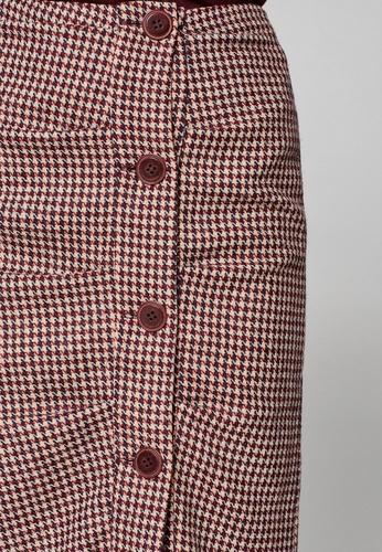 293ef3c756 Buy ESPRIT Woven Pencil Midi Skirt Online | ZALORA Malaysia