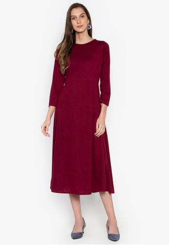 d2892b1b97bc Shop M and M Cotton Long Sleeve Maxi dress Online on ZALORA Philippines