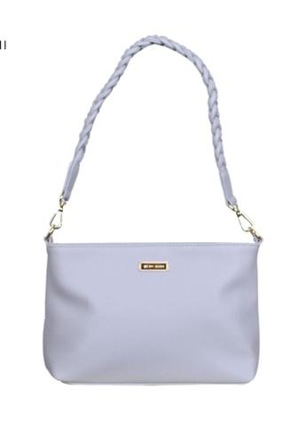 Verchini grey Verchini Twist Top Handle Sing Bag F2A0FAC0EC34F4GS_1