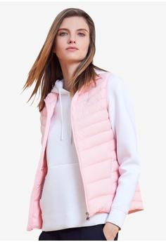 8ef025fece Fila pink White Line Down Vest BED2CAA8A471DBGS_1