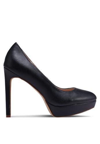 Nose 黑色 經典厚底高跟鞋 68E1DSH07E0853GS_1