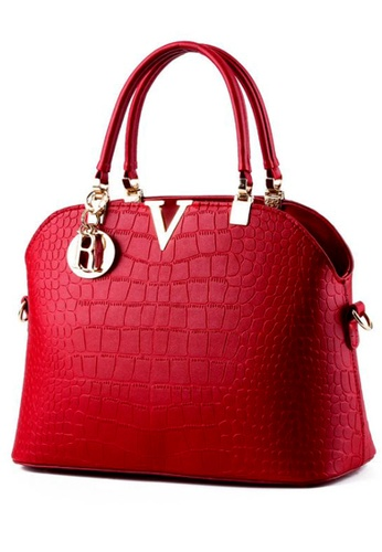 TCWK red Ladies Handbag TC258AC72GDBMY_1