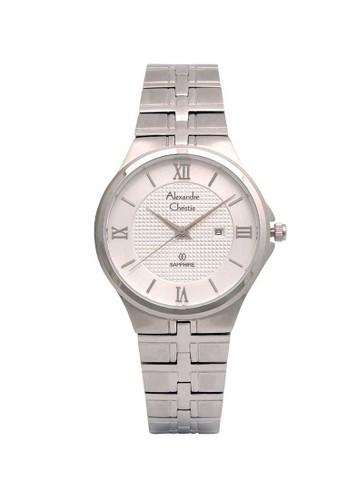 Alexandre Christie silver Alexandre Christie Jam Tangan Wanita - Silver - Stainless Steel - 8541 LDBSSSL  F4AEAAC6B65201GS_1