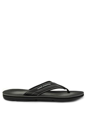 No Fear black Firm - Regular Fit Super Sandals BECD2SH8046403GS_1