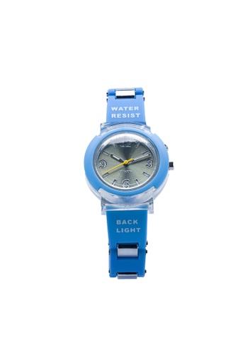 Stylebox blue 1032 Flash LED Backlight Watch 5C850AC04BE5F3GS_1