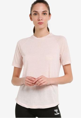 Hummel pink Mabel T-Shirt C65AFAAF0D5591GS_1