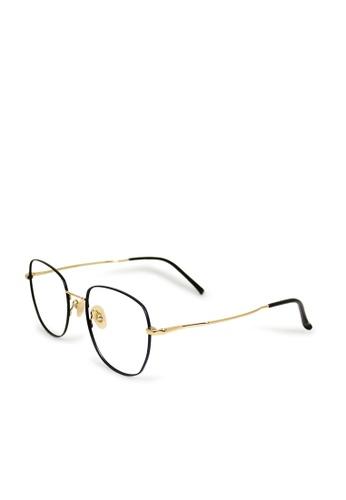 ASLLY black and gold Luxury│Anti-blue light glasses with super light black titanium frame 5C9C4GL7E69B02GS_1