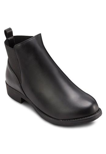 側拼接切爾西短靴, 女salon esprit 香港鞋, 靴子
