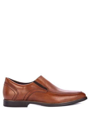Rockport brown Slayter Slip On Formal Shoes A8C03SH3185CD8GS_1