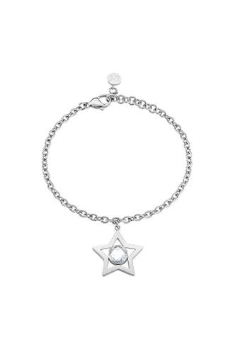 Morellato silver Cosmo Bracelet SAKI07 Steel Crystals A5E22AC8A8B0F1GS_1