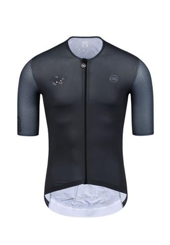 MONTON black MONTON short sleeve men littledemon 6A713AADD12D91GS_1