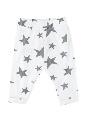FOX Kids & Baby white New Born Pants 524B6KAB6EEB6BGS_1
