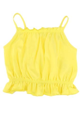 ONLY yellow Henna Life Sleeveless Top 9B5D7KA6FEACFAGS_1