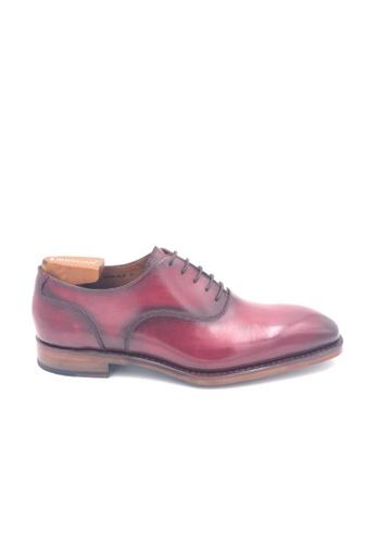 Giorostan red Men Formal Oxford Shoes 62D41SH362598DGS_1