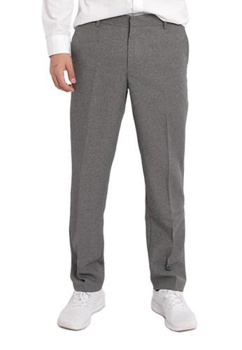 ATVA grey Celana Wool Slimfit Pria by ATVA Apparel Light Grey 6E1FCAA2FFE399GS_1