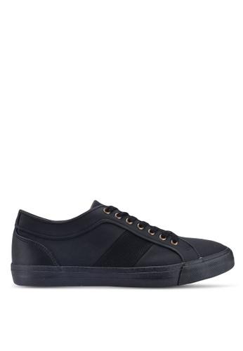 Topman black Black Spade Trainers 7F62ESH5061782GS_1