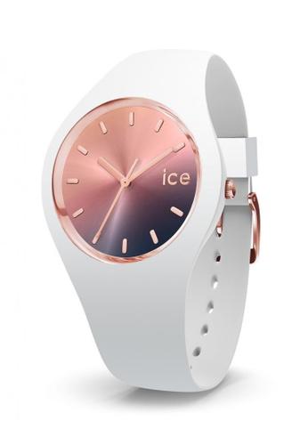 Ice-Watch white and  Ice-Watch ICE sunset - Midnight (Medium) 19F1EAC4E28521GS_1