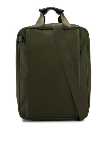 Bagstationz green Multi-Compartment Travel Shopping Organizer Bag 93069AC125CAB1GS_1