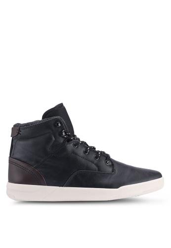 Topman black Black Ranger Boots 2604ASH5430DABGS_1