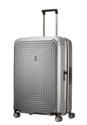 Samsonite silver Samsonite Aspero Spinner 69/25 Luggage 9371AACB98DB6AGS_1