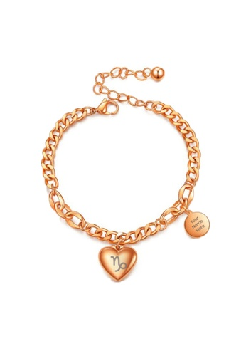 CELOVIS gold CELOVIS - Zodiac Sign Bracelet in Rose Gold 14E38AC38F1E3EGS_1