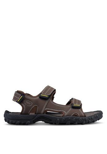 Weinbrenner brown Strap On Sandals 169A3SHCE51906GS_1