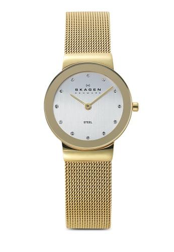 Skagen gold Skagen Freja Gold Stainless Steel Watch 358SGGD SK533AC09NGGMY_1