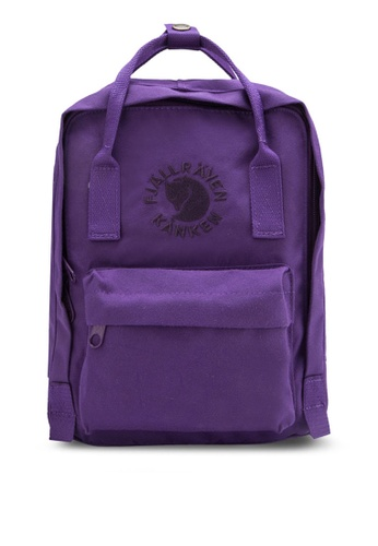 Fjallraven Kanken purple Deep Violet Re-Kanken Mini Backpack FJ382AC86ZNPMY_1