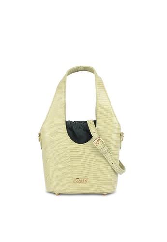 GOSH green Amaryllis 583 Handbag BD181AC9733A41GS_1