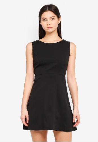 Something Borrowed black Fit & Flare Dress FC67FAAA8B7D85GS_1