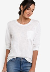 Patagonia white Mainstay 3/4 Sleeved Top PA549AA43WYQMY_1