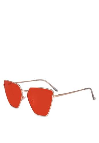 ALDO red Agrerasen Sunglasses/Square 77EC8GLB4A8213GS_1