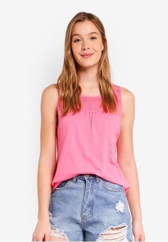 ESPRIT orange Short Sleeve T-Shirt 252D8AA031B5C5GS_1