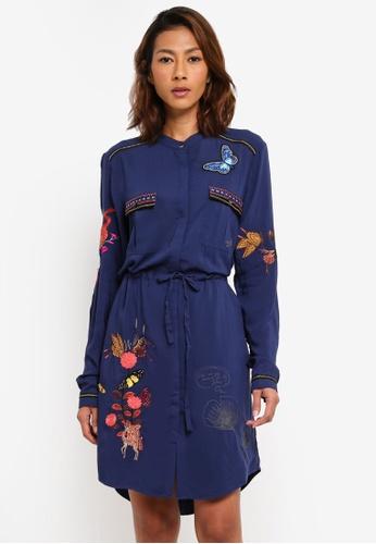 Desigual blue Jazmin Dress E62A0AA3B516C8GS_1