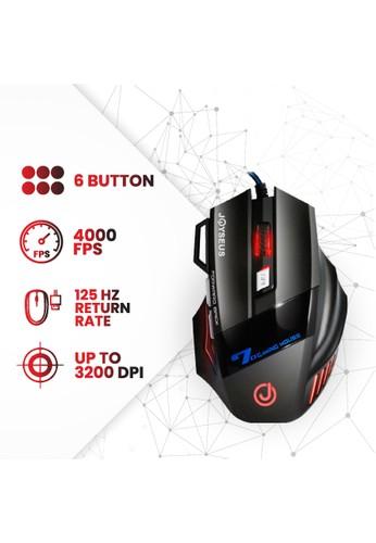 Joyseus RGB Professional Gaming Mouse JOYSEUS 3200DPI LED USB Wired - MS0007 86E8FES65D3704GS_1