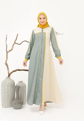 Yumnasa.id green Yumnasa.id ASTER Dress 683E0AA481309EGS_1