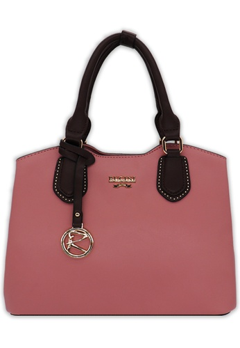 RUCINI pink Two Toned Casual Pink FAFC9AC1B801A7GS_1