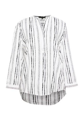 Cardinal white Basic Shirt 0B2F9AAC1102A7GS_1