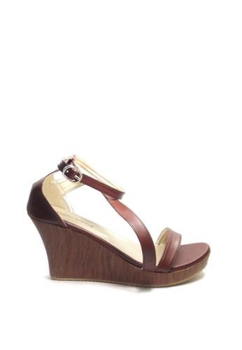 Beauty Shoes brown Beauty Shoes EL 187 Wedges Brown 962C5SH6134D56GS_1