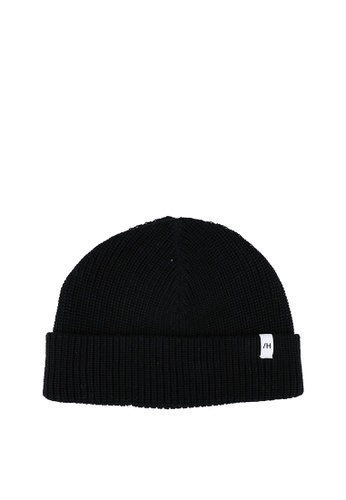 Selected Homme black Rossi Knit Beanie 8DB7AACC14171CGS_1