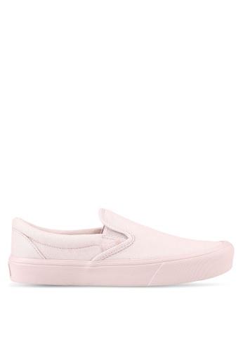 VANS pink Lite Slip-Ons VA142SH0RR1SMY_1