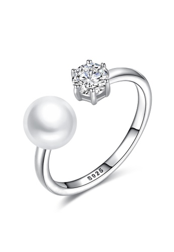A.Excellence white Premium White Pearl Ring 23FC2ACECD347DGS_1