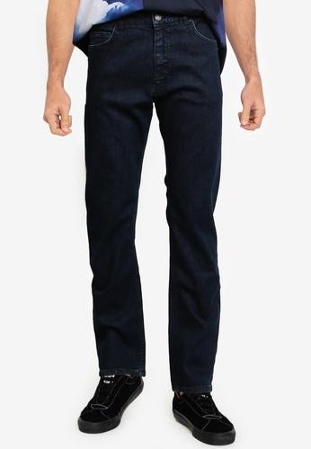 BOSS 海軍藍色 Albany Jeans - BOSS Men 15DD6AA492ABDAGS_1