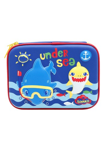 Locally Blend blue Pencil Case Under Sea 32DF3KC9841ECFGS_1