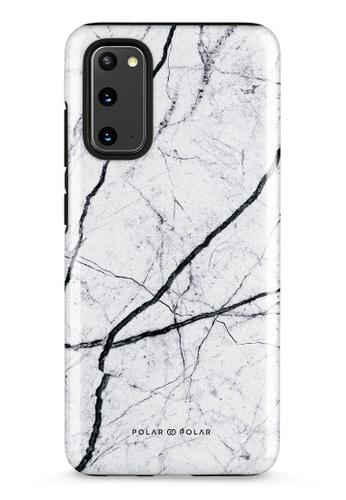 Polar Polar white Classic White Samsung Galaxy S20 5G Dual-Layer Protective Phone Case (Glossy) 17CBCAC277195FGS_1