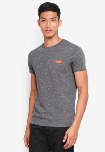 Superdry 灰色 混色短袖T恤 8A92BAA83A0A52GS_1