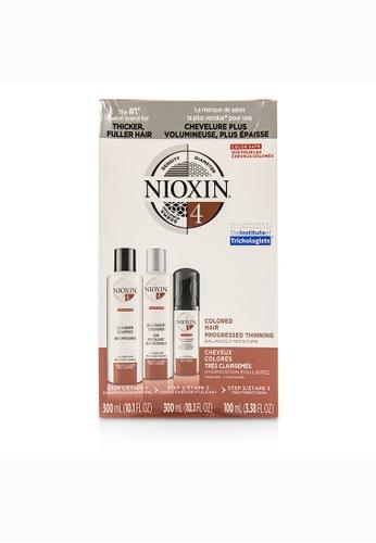 Nioxin NIOXIN - 3D Care System Kit 4 - For Colored Hair, Progressed Thinning, Balanced Moisture 3pcs 6E82EBEFBC1D26GS_1