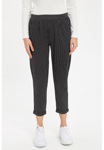 DeFacto 黑色 Woman Woven Bottom Trousers BDD36AAD16D3EEGS_1