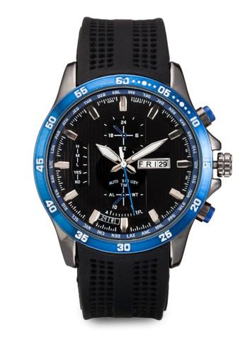 潛水員橡膠錶帶手錶, 錶類, 飾品配esprit sg件